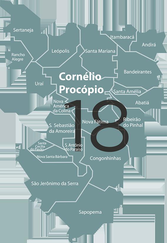 18ª Regional de Saúde - Cornélio Procópio | Secretaria da Saúde